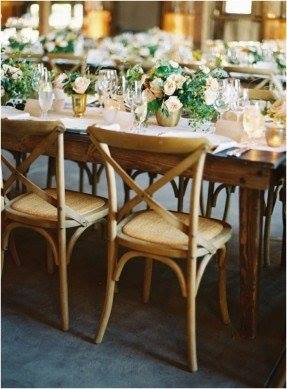 Crossback chairs